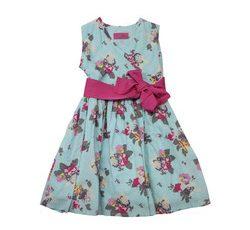 Letné šaty s mašľou