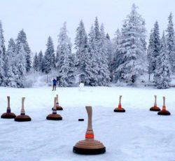 Zamrznuté Štrbské pleso
